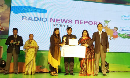 COAST Trust's Community Radio Meghna Honoured with the Meena Media Award-2019